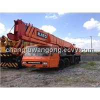 Used Hydraulic Construction Crane 45t Kato