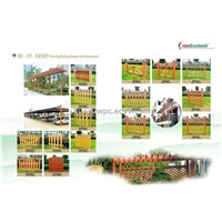 WPC fencing , railing,leisure products,Composite board