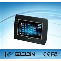 Wecon 7 inch human machine interface(hmi) for automation