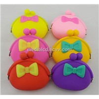 Wholesale Fashion Silicone Purse Wallet