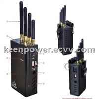 Wifi and Cell Phone Jammer+GPS Signal Jammer-SJ8004