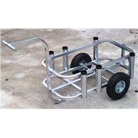 aluminum fishing cart