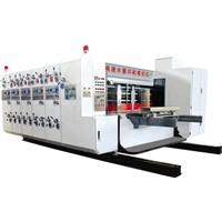 automatic flexo printing slotting machine