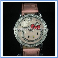 Cheap Hello Kitty Watches for Women with PU Watchstrap