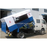 dongfeng self-dumping rubbish truck
