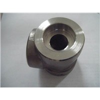 duplex ASTM A182 F51/2205/UNS S31803/1.4462 forged socket threaded elbow tee cap cross coupling