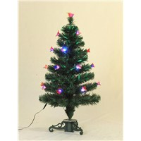 fiber-optical decorations christmas tree