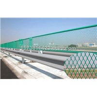 framed welded wire mesh fence