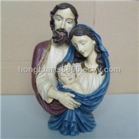 home decoration craft nativity large Christmas resin statue