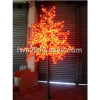 led maple tree, festive street lighting fixtures