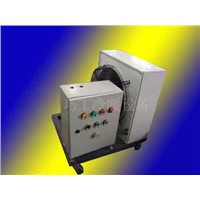 mobile electric heating unit heater