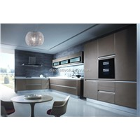 modern lacquer kitchen cabinet with customized design, cabinet for kitchen