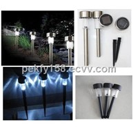 plastic solae lawn light