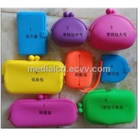 Promotion Fashion Silicone Purse,Silicone Cosmetic Bag, Jelly Ladies Handbags