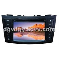 touch screen car dvd gps player with gps/tv for suzuki swift