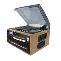 vinyl record player with USB mp3 players