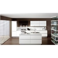 white lacquer kitchen cabinet with modern design, cabinet for kitchen