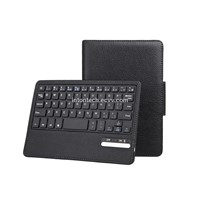bluetooth 3.0 keyboard with leather case for iPad mini