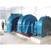 hydro turbine generator set for water power plant small/mini/medium size francis type