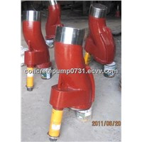 manufacture concrete pumps spare parts s pipe s valves