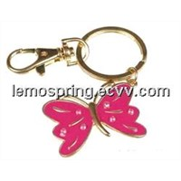 promotional key chain/good qualtiy/butterfly design