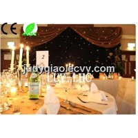 wedding backdrops light led curtain