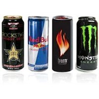energy drinks,soft drinks