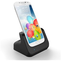 Cover-mate Dual Dock Data Sync 2nd Battery Cradle for Samsung Galaxy S4 i9500