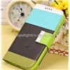 Samsung Galaxy S4 i9500 PU Case with Contrast Color,Card Slot,Holder