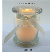 12oz cylinder glass candle jar (GJ0116)
