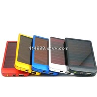 2013 hot sale popular solar mobile power bank