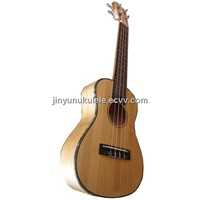 23 Inch All Solid Bamboo Wood Ukulele