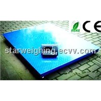 2 tons Electronic Weighing  Floor Scale
