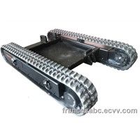 5 ton custom design rubber tracks
