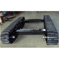 6ton rubber track undercarriage