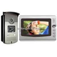 7inch Video Door Intercom System with ID Card Access