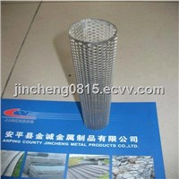 AISI 304 Stailess Steel Perforated Metal Tube for Filter