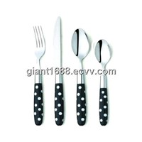 Colored Plastic Handle Cutlery