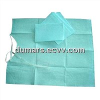 Dental Bib with 2 ply of Wood Pulp Paper and 1 Ply of PE Film, Available in Various Colors