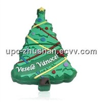 Hot Real Memory Christmas Tree USB Flash Pen Drive