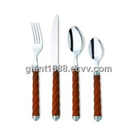 Jieyang Factory Directly Sale Plastic Handle Cutlery