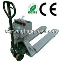 LCD Display 2t pallet truck scale