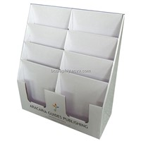 Notebook and Brochure Free Style PDQ Display Box