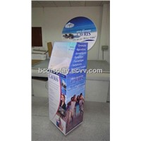 Slide Paper Display Stand