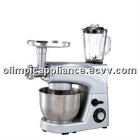 Stand Mixer with Plastic Housing and High Speed Motor