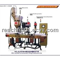 WQ-AL2000 Auto Toner Filling Production Line