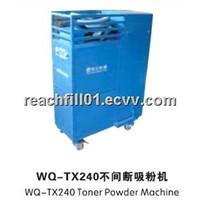 WQ-TX240 Non-Stop Toner Powder Vacuum Machine