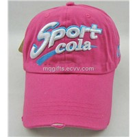100% Cotton Twill Promotional Ladies Golf Caps