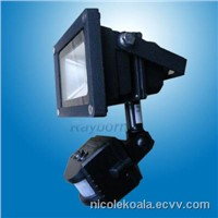 10W 20W 30W Outdoor Led Flood Lights PIR LED Floodlight 220v - 240v With PIR Motion Sensor