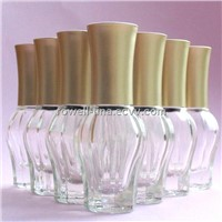 13ml clear glass nail polish bottle wholesale xuzhou